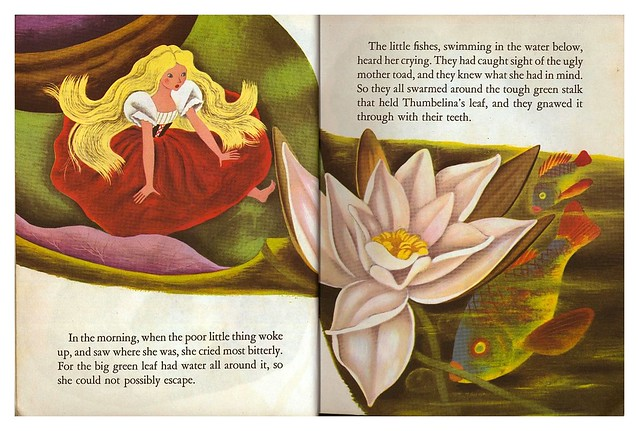 009-Tenggren's Thumbelina-Illustrated Gustaf Tenggren-Copyright 1953-via goldengems.blogspot