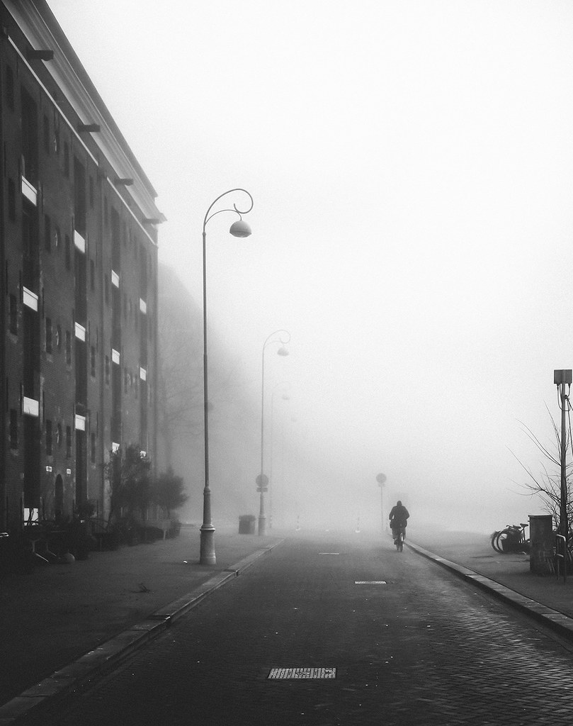 Fog on Entrepotdok