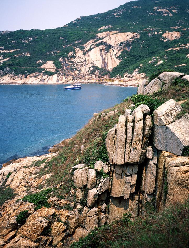 蒲台島--佛手岩
