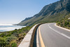 Highway on the coast