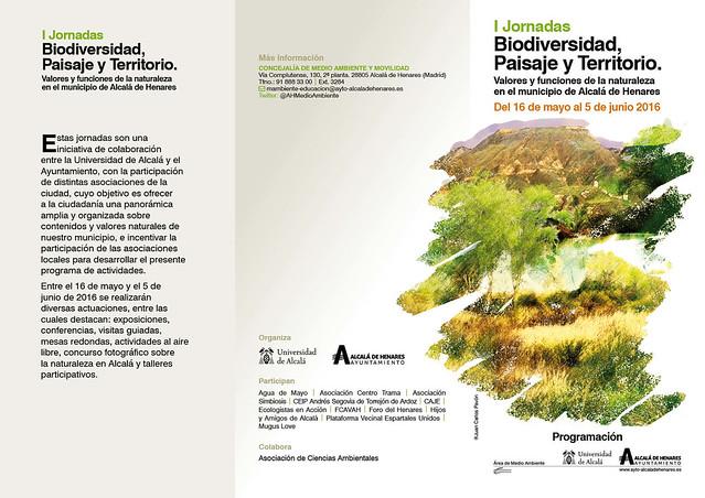 Jornadas Biodiversidad Alcalá de Henares