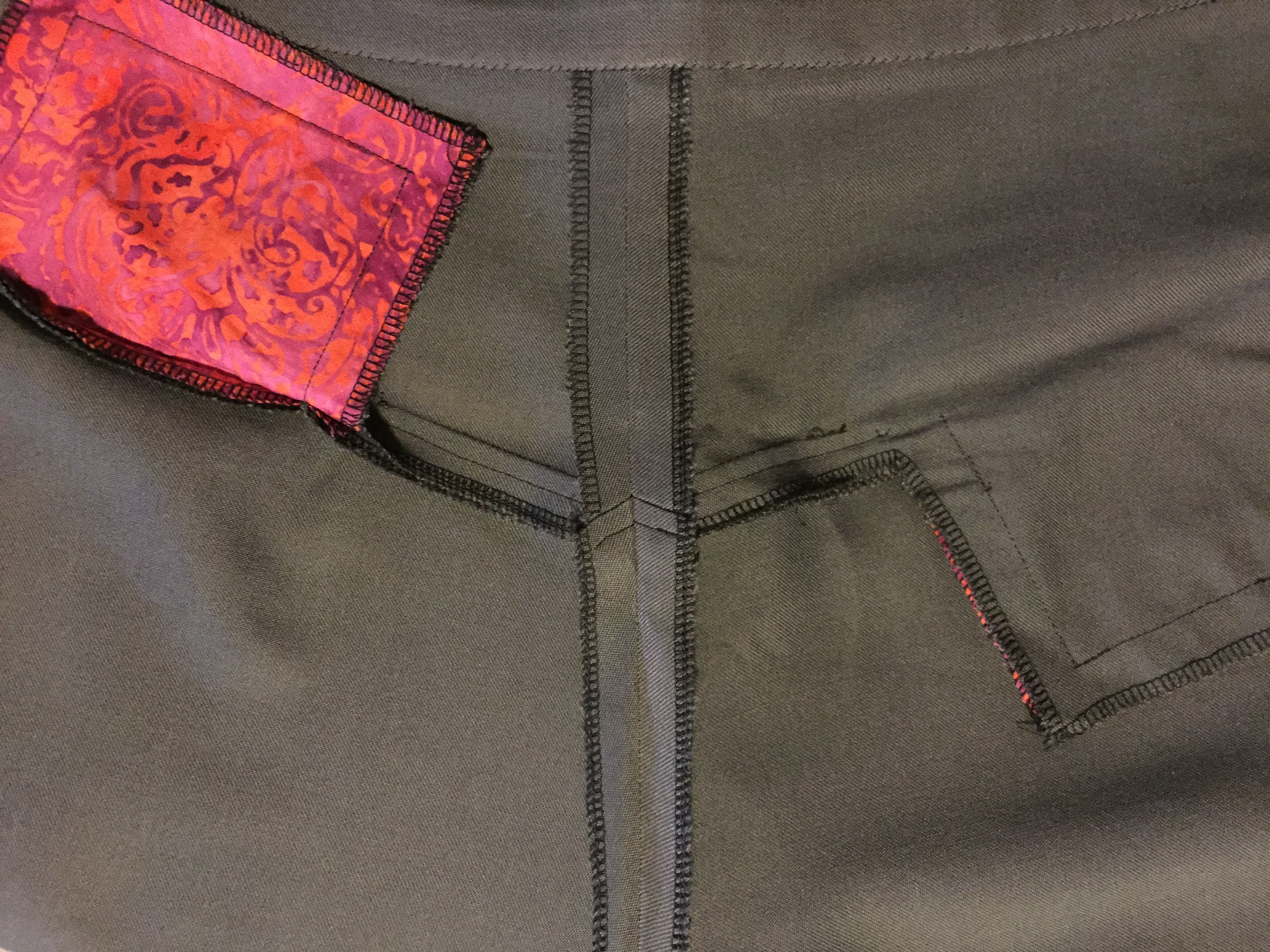 Self drafted trousers 5