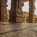 The Hanging Pillar of Sri Veerabhadra Temple - Lepakshi by bikashdas