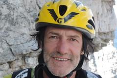 Hans Kammerlander, Leiter des Bergwander-Wochenendes in den Dolomiten. Foto: Archiv Kammerlander.