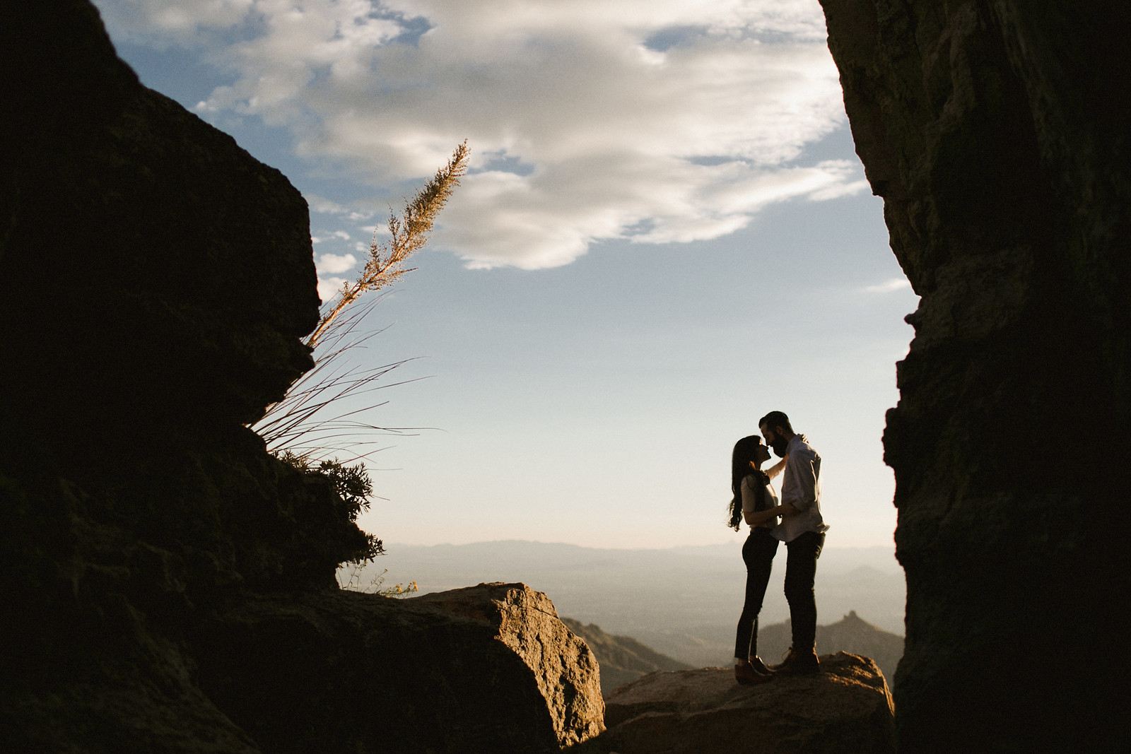 New Darlings // Mt. Lemmon couple session // Ben Sasso