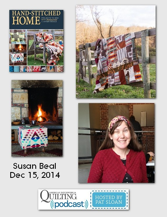 American Patchwork and Quilting Pocast Susan Beal Dec 2014