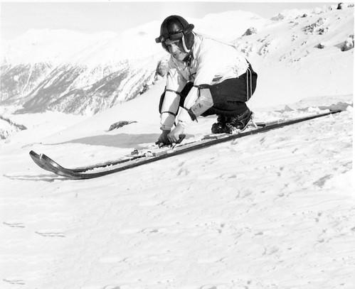 Ve Svatém Mořici se pořádaly první evropské závody vrychlostní lyžování vroce 1930.Tehdy byl nejrychlejší Gustav Lantschner, když dosáhl rychlosti 105,675km/h. Orok později ale už Leo Gasperl dosáhl rychlosti 136,6km/h