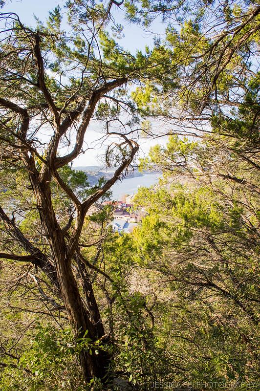 Mount Bonnell Hiking Trail Austin Texas
