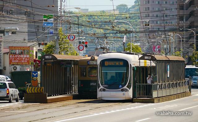 広島電鉄 5100型グリーンムーバーマックス Green Mover Max