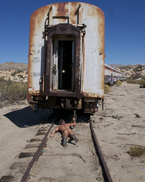 naturist 0006 DeAnza railroad trail, California, USA