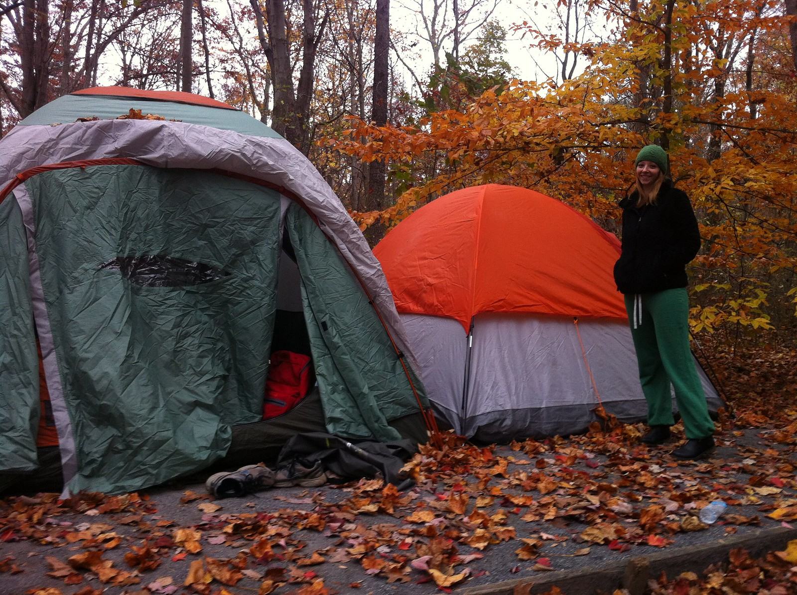 our sweet tents!