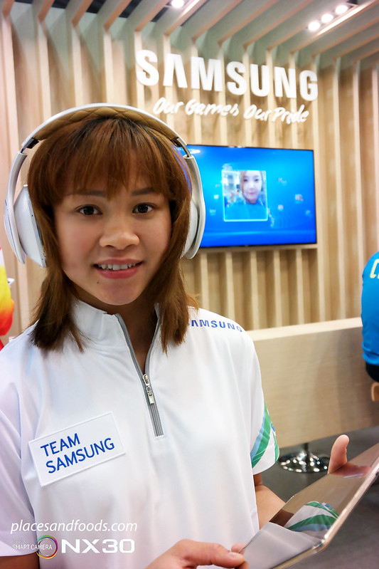 pandelela rinong samsung athlete meet village