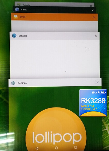 RK3288 Lollipop