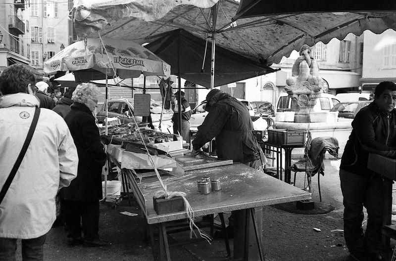 Marché Saint François - Nice