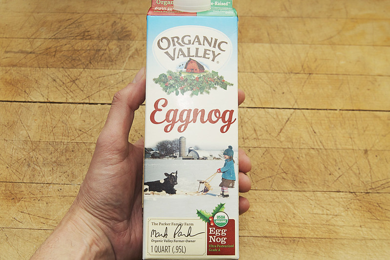 12/365. FACT: the holiday season is not done until I finish the last quart of organic valley eggnog.