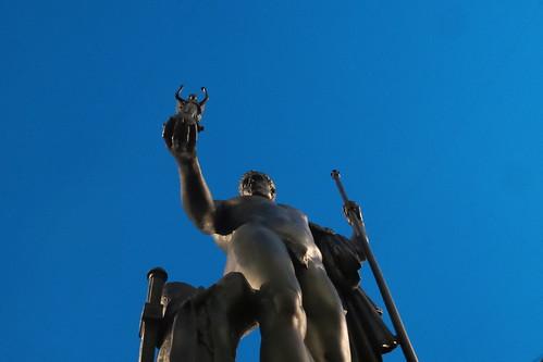 Sotto il dono di Napoleone in #Brera