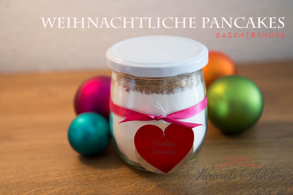 Weihnachtliche Pancake Backmischung