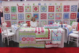 LakeHouse booth Quilt Market