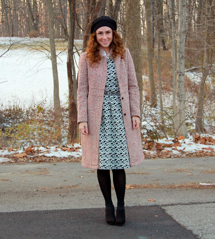 modest dress design via Kristina J blog