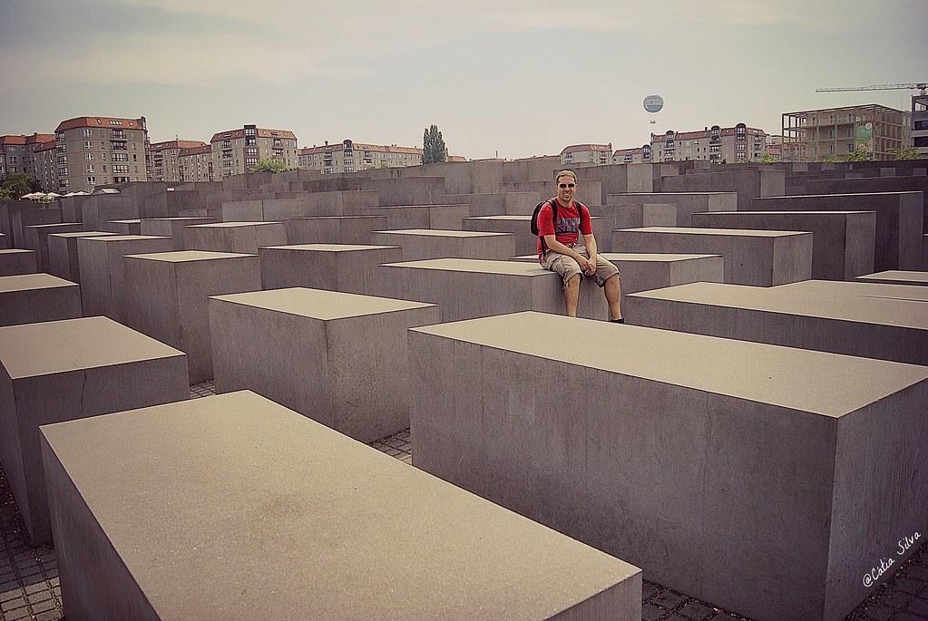 Around Berlin (5) Memorial conmemorativo a los Judíos Asesinados de Europa