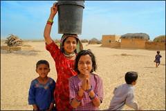 Girls.  Thar desert