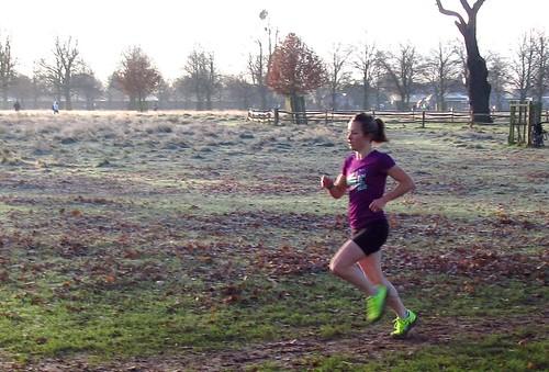 First female finisher Joanna Rodriguez