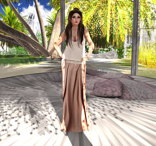 [hh] Bella Maxi Skirt & Top Outfit