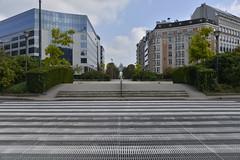 Le rond point Schuman