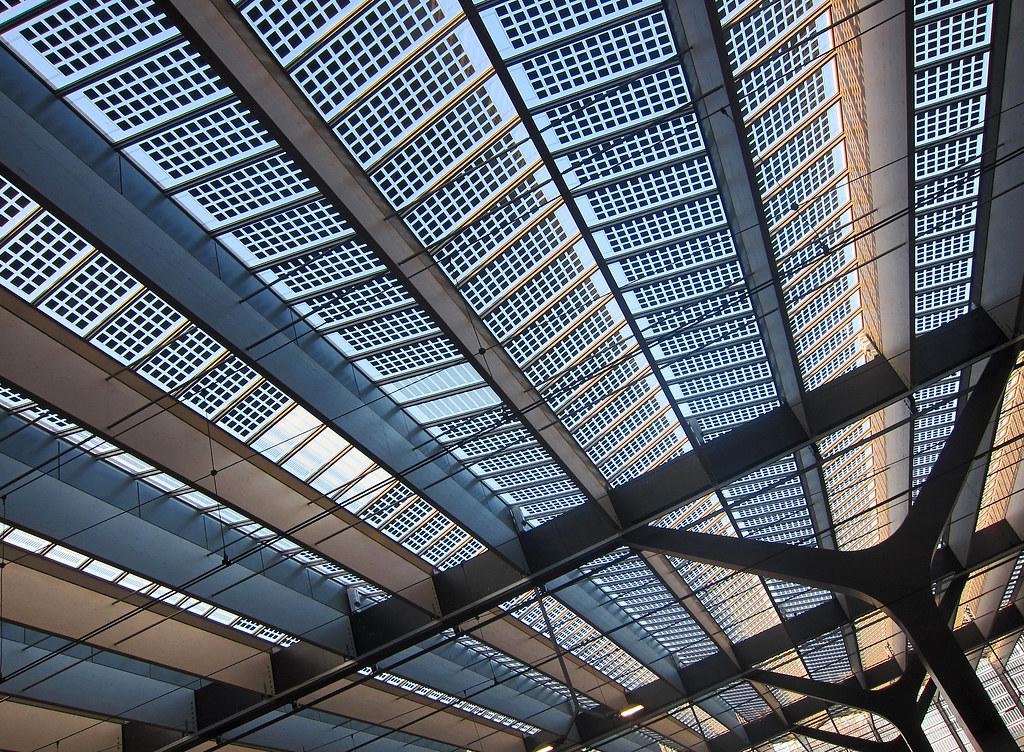 Solar Panel Roof Rotterdam Netherlands Central Station