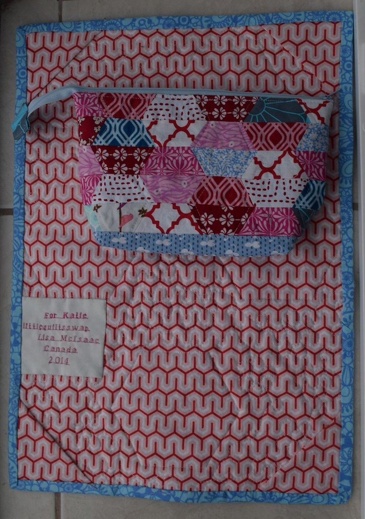 little quilts swap back