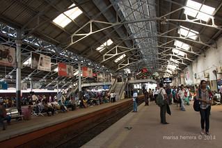 Colombo. Railway station.