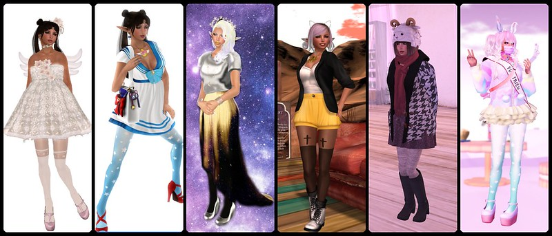 Year in Review SL - 2014 - Favorite Outfits part 1