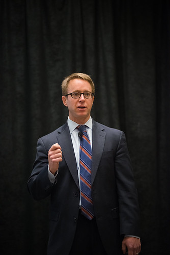 NRCS Chief Jason Weller was one of a number of USDA speakers during the ACES Conference in suburban Washington last week. USDA Photo by Bob Nichols.
