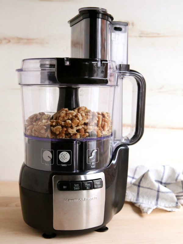 Walnut Snowball Cookies & a Food Processor Giveaway