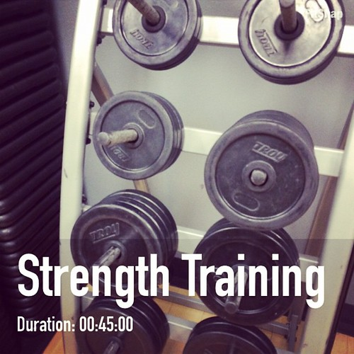It's a new day so try something new today! This morning I upped my weights! #fitchallenge #fitfluential #motivationmonday
