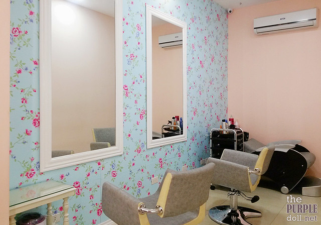 Salon Room in Make Me Blush Quezon City