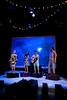 Natasha Brown, Elaine Glover, Matthew Harvey and Glyn Kerslake in Come Fly With Me. Credit Richard Davenport