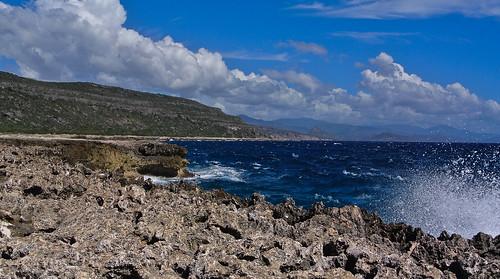 blue sky mountains water clouds meer wasser himmel wolken berge blau kati kuba 2014 caribbeansea karibik guantánamo nikon1v1