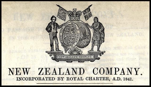 New Zealand Company Coat of Arms