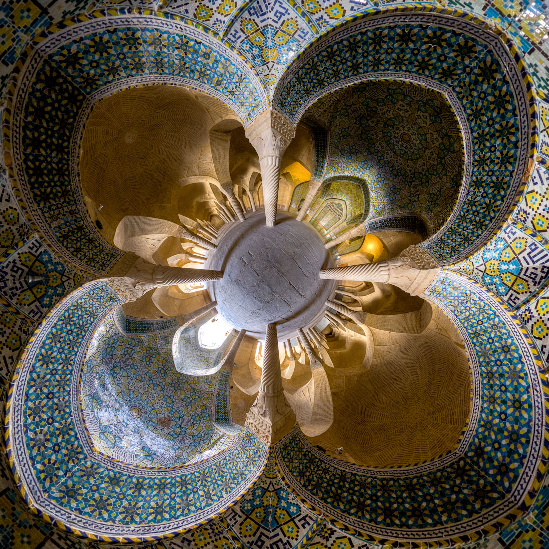 Vakil mosque, Shiraz, photo by Mohammad Reza Domiri Ganj