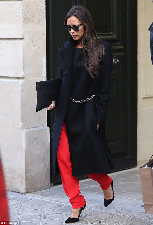 Black-duster-coat-with-tailored-pants