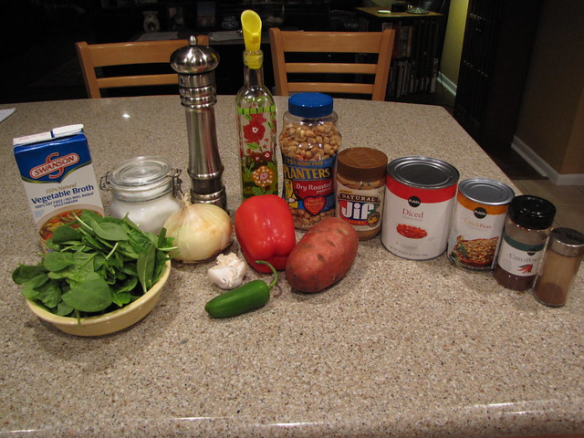 African Peanut Stew Ingredients