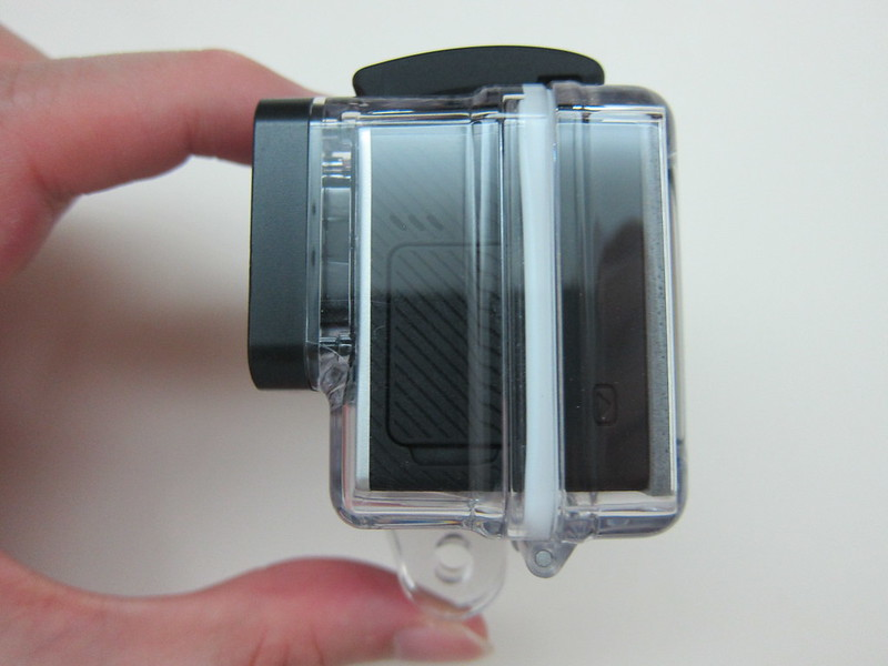 GoPro LCD Touch BacPac - With Touch BacPac Backdoor Left