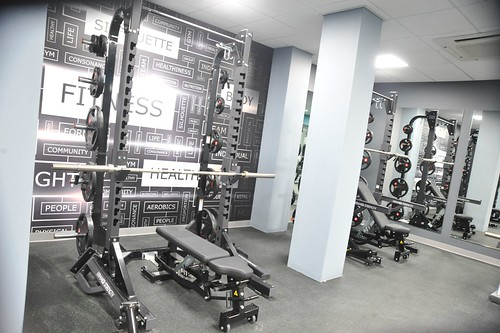 New look unveiled at Ayr Citadel gym