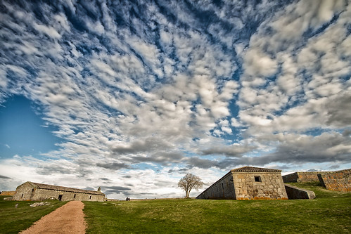 monument landscape uruguay cloudy fort bluesky historic buidling rocha