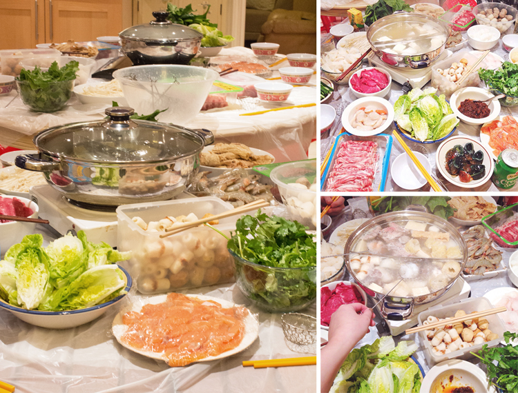 hot pot christmas eve 2014