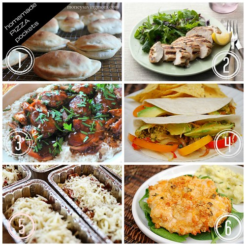 Freezer Meal 101- tips and tricks for making meals ahead. Via www.thirtyhandmadedays.com.