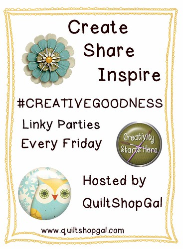 Link Party: #CreativeGoodness