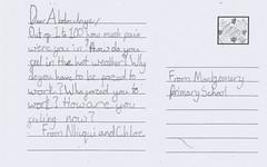 Montgomery Primary: Nhiqui & Chloe's post…