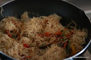 Millet-noodles